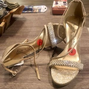 Shoes - NWT Mark Badgley &James Mischa Gold Shoes